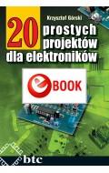 20 prostych projektów dla elektroników (e-book)