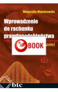 Wprowadzenie do rachunku prawdopodobieństwa z zadaniami (e-book)