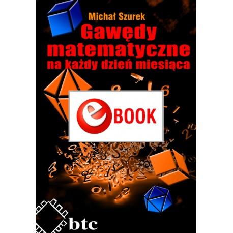 Gawędy matematyczne na każdy dzień miesiąca (e-book)